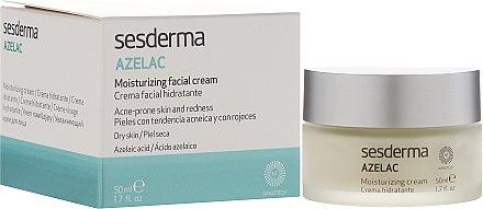Feuchtigkeitsspendende Gesichtscreme - SesDerma Laboratories Azelac Moisturizing Cream — Bild N1