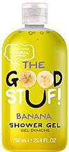 Düfte, Parfümerie und Kosmetik Feuchtigkeitsspendendes Duschgel mit Bananenduft - The Good Stuf Banana Shower Gel