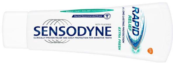 Beruhigende Zahnpasta für empfindliche Zähne Rapid Relief Extra Fresh - Sensodyne Rapid Extra Fresh — Bild N1