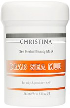 Düfte, Parfümerie und Kosmetik Schlammmaske für fettige Haut - Christina Sea Herbal Beauty Dead Sea Mud Mask