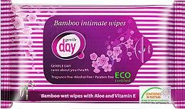 Düfte, Parfümerie und Kosmetik Intimpflegetücher mit Aloe Vera und Vitamin E - Gentle Day
