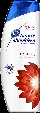 Kräftigendes Anti-Schuppen Shampoo - Head & Shoulders Thick & Strong — Bild N1