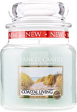 Düfte, Parfümerie und Kosmetik Duftkerze im Glas Coastal Living - Yankee Candle Coastal Living Jar