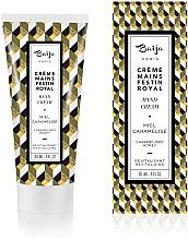 Düfte, Parfümerie und Kosmetik Revitalisierende Handcreme mit karamelisiertem Honigduft - Baija Festin Royal Hand Cream