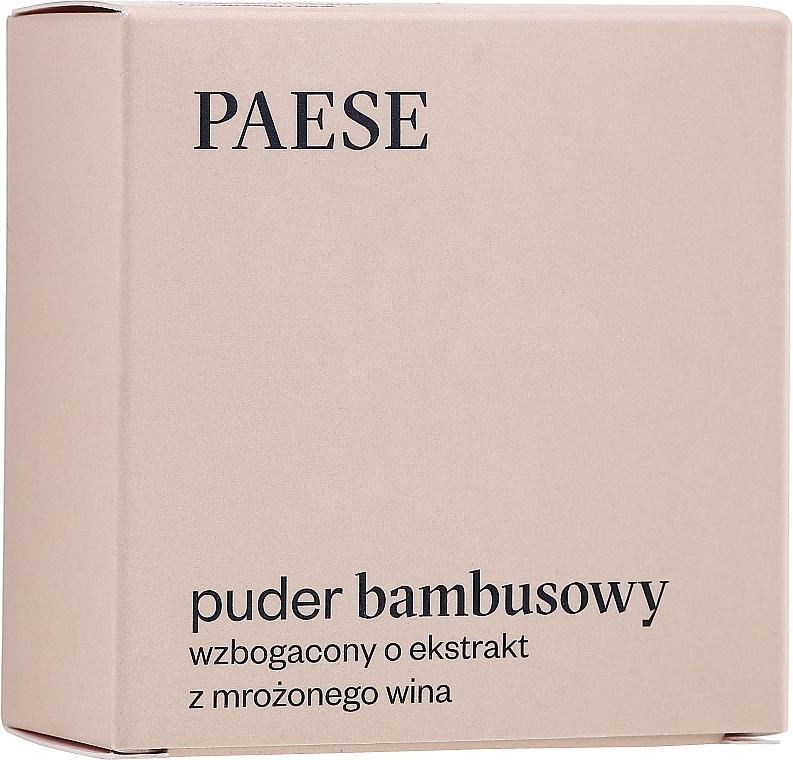 Loser Bambuspuder mit Seidenprotein und Weinextrakt - Paese Bamboo Powder With Silk And Frozen Wine Extract — Bild N1