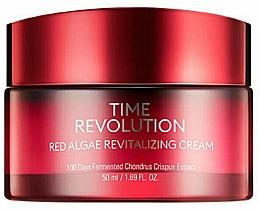 Düfte, Parfümerie und Kosmetik Revitalisierende Gesichtscreme mit rotem Algenextrakt - Missha Time Revolution Red Algae Revitalizing Cream