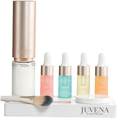 Hautpflege-Set - Juvena Skinsation Skin Care Kit (Fluid/50ml + Gesichtskonzentrat/4x10ml + Spender + Tropfenzähler) — Bild N1