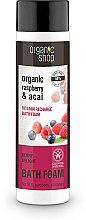 Düfte, Parfümerie und Kosmetik Vitaminreiches Badeschaum mit Bio Himbeer- und Acai-Beeren-Extrakten - Organic Shop Organic Acai and Raspberry Berry Bath Foam