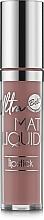 Düfte, Parfümerie und Kosmetik Flüssiger mattierender Lippenstift - Bell Ultra Mat Liquid Lipstick