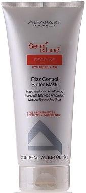 Haarmaske für widerspenstiges Haar - Alfaparf Semi di Lino Discipline Frizz Mask — Bild N2