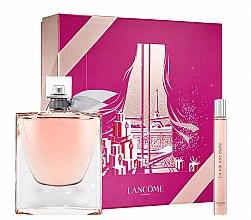 Düfte, Parfümerie und Kosmetik Lancome La Vie Est Belle - Duftset (Eau de Parfum 100ml + Eau de Parfum Mini 10ml)
