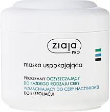 Düfte, Parfümerie und Kosmetik Beruhigende Gesichtsmaske - Ziaja Pro Soothing Face Mask