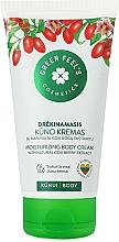 Düfte, Parfümerie und Kosmetik Feuchtigkeitsspendende Körpercreme mit natürlichem Extrakt aus Goji-Beeren - Green Feel's Body Cream With Natural Goji Berry Extract