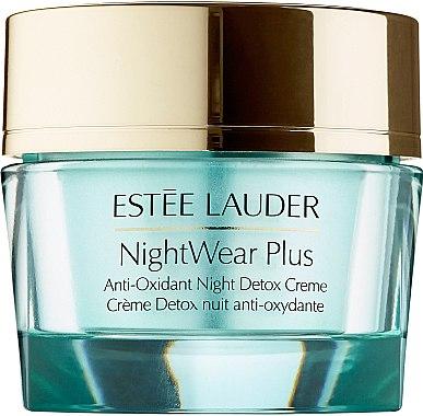 Antioxidative Nacht Entgiftungscreme - Estee Lauder NightWear Plus Anti-Oxidant Night Detox Creme — Bild N1