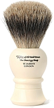 Düfte, Parfümerie und Kosmetik Rasierpinsel 9.5 cm P1020 - Taylor of Old Bond Street Shaving Brush Pure Badger Size S