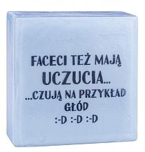 Düfte, Parfümerie und Kosmetik Handgemachte Glycerinseife mit Fruchtduft - LaQ Short Message Soap: Männer haben auch Gefühle ... sie fühlen sich zum Beispiel hungrig :-D :-D :-D Natural Soap