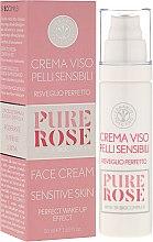 Düfte, Parfümerie und Kosmetik Gesichtscreme für empfindliche Haut - Erbario Toscano Pure Rose 3r Biocomplex Cream