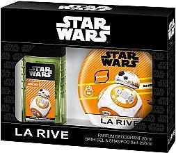 Düfte, Parfümerie und Kosmetik La Rive Star Wars Droid - Kinderset (Körperspray/80ml + 2in1 Duschgel & Shampoo/250ml)