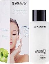 Düfte, Parfümerie und Kosmetik 2in1 Sanfte Reinigungsmilch für Gesicht und Hals mit Peeling-Effekt - Academie Visage Gentle Peeling Cleanser 2 In 1