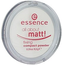 Düfte, Parfümerie und Kosmetik Mattierendes Kompaktpuder - Essence All About Matt! Fixing Compact Powder