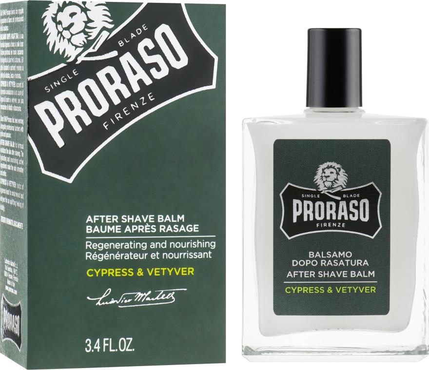 After Shave Balsam - Proraso Cypress & Vetiver After Shave Balm — Bild N1