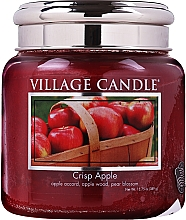 Düfte, Parfümerie und Kosmetik Duftkerze im Glas Crisp Apple - Village Candle Crisp Apple