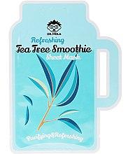 Düfte, Parfümerie und Kosmetik Erfrischende Tuchmaske für fettige Haut mit Teebaum - Dr. Mola Refreshing Tea Tree Smoothie Sheet Mask