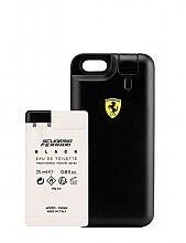 Düfte, Parfümerie und Kosmetik Ferrari Scuderia Ferrari Black - Duftset (Eau de Toilette/25ml + Case)