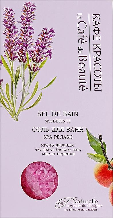 Badesalz SPA Relax - Le Cafe de Beaute Sel De Bain Spa — Bild N1