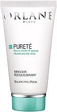 Düfte, Parfümerie und Kosmetik Ausgleichende Gesichtsmaske - Orlane Balancing Mask