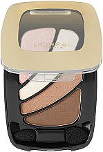 Düfte, Parfümerie und Kosmetik Lidschatten - L'Oreal Paris Colour Riche Quads Eye Shadow