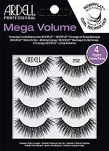 Düfte, Parfümerie und Kosmetik Künstliche Wimpern 252 - Ardell Mega Volume 252