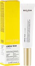 Straffende Creme für die Augenpartie mit Hyaluronsäure und Pflaumensamenextrakt - Decleor Prolagene Lift Lift & Firm Eye Cream — Bild N1