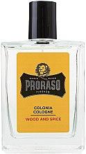Düfte, Parfümerie und Kosmetik Proraso Wood and Spice - Eau de Cologne