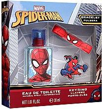 Düfte, Parfümerie und Kosmetik Marvel Spiderman - Duftset (Eau de Toilette 30ml + Schlüsselanhänger + Armband)