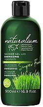 Düfte, Parfümerie und Kosmetik Energiespendendes Duschgel mit Weizengras - Naturalium Energizing Shower Gel