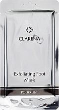 Düfte, Parfümerie und Kosmetik Exfolierende Fußmaske-Socken - Clarena Exfoliating Foot Mask