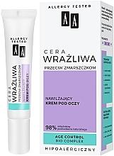 Düfte, Parfümerie und Kosmetik Feuchtigkeitsspendende Anti-Falten Augenkonturcreme für empfindliche Haut - AA Eye Cream For Sensitive Skin