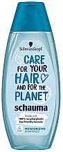 Düfte, Parfümerie und Kosmetik Feuchtigkeitsshampoo - Schwarzkopf Schauma Care For Your Hair & For The Planet Moisturizing Shampoo