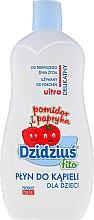 Düfte, Parfümerie und Kosmetik Schaumbad Tomate & Paprika für Babys und Kinder - Dzidzius Fito Bubble Bath Tomato & Pepper