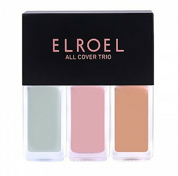 Gesichtsconcealer - Elroel All Cover Trio — Bild N1
