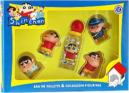 Düfte, Parfümerie und Kosmetik Air-Val International Crayon Shin-chan - Duftset (Eau de Toilette 50ml + Spielzeug 4St.)