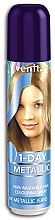 Düfte, Parfümerie und Kosmetik Farbiges Haarspray auswaschbar - Venita 1-Day Color Metallic Spray