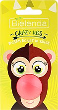 "Düfte, Parfümerie und Kosmetik Lippenbalsam ""Affe"" Zuckermelone - Bielenda Crazy Kiss Lip Balm"