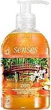 """Düfte, Parfümerie und Kosmetik Flüssigseife """"Mandarine und Jasmin"""" - Avon Senses Zen"""