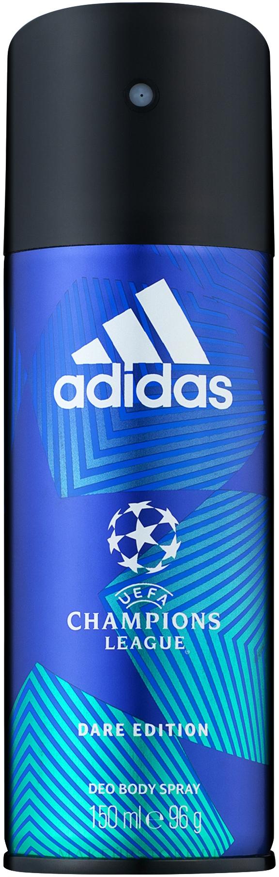 Adidas UEFA Champions League Dare Edition Deo Body Spray - Deospray — Bild 150 ml
