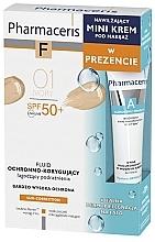 Düfte, Parfümerie und Kosmetik Make-up Set - Pharmaceris (Foundation 30ml + Gesichtscreme 15ml)