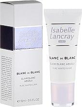 Düfte, Parfümerie und Kosmetik Aufhellendes Gesichtselixier für pigmentgestörte Haut - Isabelle Lancray Blanc De Blanc Pure White Elixir