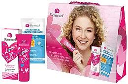 Düfte, Parfümerie und Kosmetik Gesichtspflegeset - Dermacol Love My Face (Gesichtscreme 50ml + Gesichtsmaske 15ml)