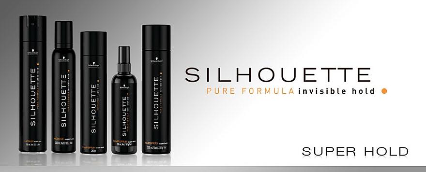 Pumpspray für das Haar Super starker Halt - Schwarzkopf Professional Silhouette Pumpspray Super Hold (Reserve) — Bild N3